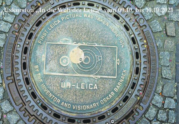 Leica-Exkursion 2021