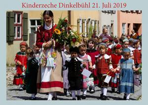 Kinderzecher Dinkelsbühl 21. 7.2019