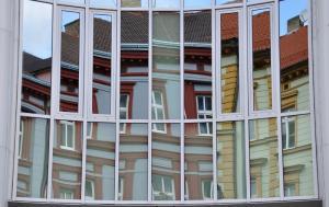 Urbane Eindrücke Fassade Budweis