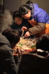 Straßenküche Beijing