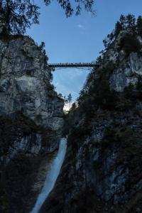 Pöllatschlucht mit Marienbrücke