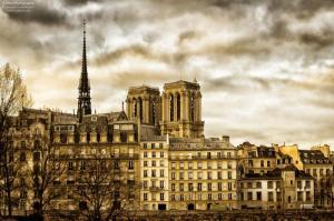 In der Nähe von Notre Dame