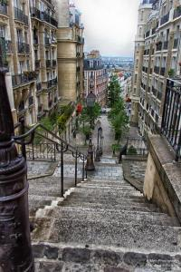 Trepauf, Trepab am Montmartre