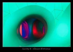 Levity II - Green Entrance