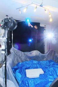 Vorbereitung Studio