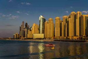 Andreas Metsch - Abendstimmung-Dubai