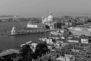 Detlef Knispel-Blick auf Santa Marie della Salute-Venedig