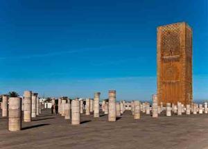 Helga Boehnke Hassanturm, Rabat-Marokko