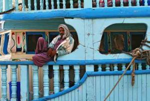 Herbert Reinl-Pause, alter Hafen Dubai