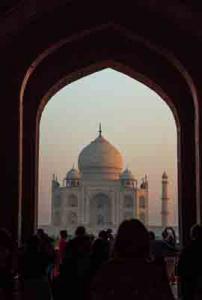 Lothar Claußner-Taj Mahal, Indien