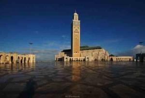 Michael Berning-Hassan II Moschee Casablanca